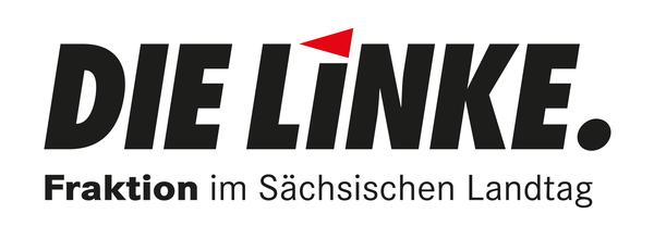 Logo Die Linke. Fraktion im Sächsischen Landtag